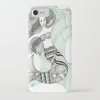 mermaids iPhone & iPod Cases featuring Mermaids by winnie patterson