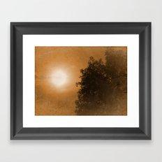 Autumn Feeling  Framed Art Print