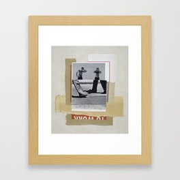 Nomad Framed Art Print