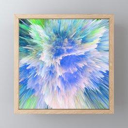 """""""Unbreakable Spirit"""" Abstract Design Framed Mini Art Print"""