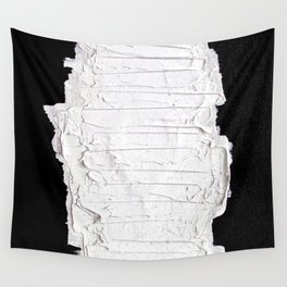 Black, White & White Wall Tapestry