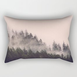 Summer Fog Rectangular Pillow