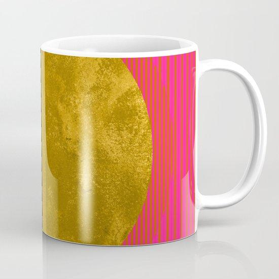 Abstract Sunset Mug