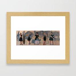 The swing states Framed Art Print