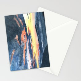 The last sunrise Stationery Cards