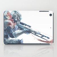 garrus iPad Cases featuring Archangel Vakarian by skepticArcher