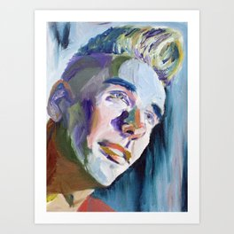 Scott T. Study #1 Art Print