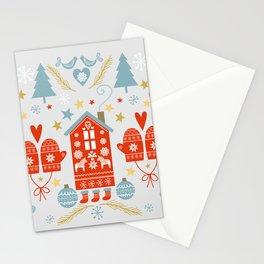 Laplander Winter Holiday Stationery Cards