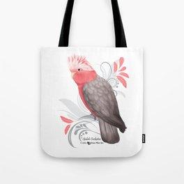 Galah Cockatoo Tote Bag