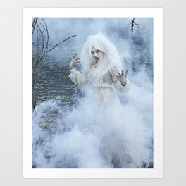 The Ghost in You Art Print