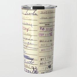 Library Card 780 The Wonderful World of Music Travel Mug