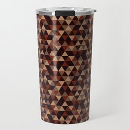 Colorful Triangles Pattern 2 Travel Mug