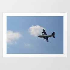 Mid-Flight Art Print