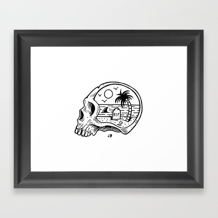 Die-o-rama Framed Art Print by jamiebrowneart | Society6