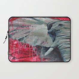 A Shade of Red Laptop Sleeve
