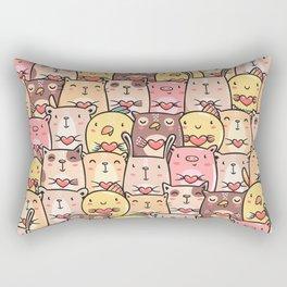 Sweet Pets Rectangular Pillow