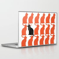 john Laptop & iPad Skins featuring CATTERN SERIES 2 by Catspaws