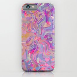 Electrified Crystal Ball iPhone Case