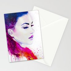 Color illusions Stationery Cards