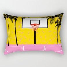 Dope - memphis retro vibes basketball sports athlete 80s throwback vintage style 1980's Rectangular Pillow