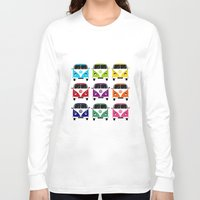 vw Long Sleeve T-shirts featuring VW Campervan by chauloom