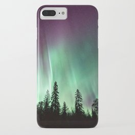 Colorful Northern Lights, Aurora Borealis iPhone Case
