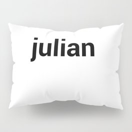 julian Pillow Sham