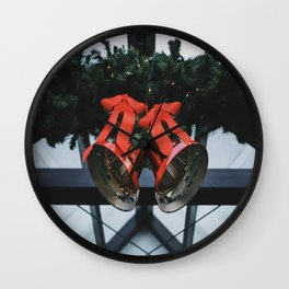 The Bells of Christmas Wall Clock