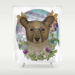 The Bear Shower Curtain