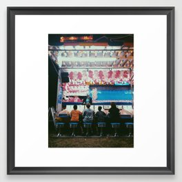 Austin County Fair Framed Art Print