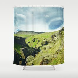 Iceland - Ascending Shower Curtain