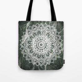 Pleasure On Green Marble Tote Bag