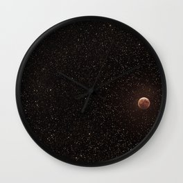 No matter where you are, you will always be looking at the same moon as I am Wall Clock