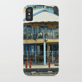The blue Restaurant iPhone Case