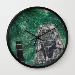 Trepidation Wall Clock