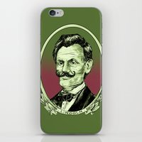 lincoln iPhone & iPod Skins featuring Lincoln by Esteban Ruiz