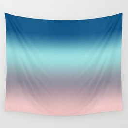 Rose Quartz Lilac Gray Limpet Shell Snorkel Blue Ombre Wall Tapestry