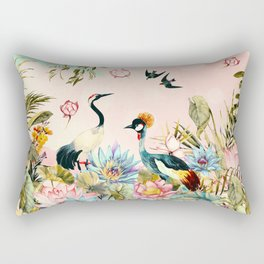 Landscapes of birds in paradise 2 Rectangular Pillow