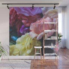 Pastel Flower Bunch Wall Mural