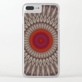 Some Other Mandala 29 Clear iPhone Case
