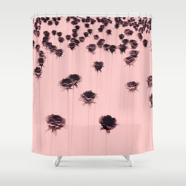 Poisoned garden Shower Curtain