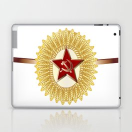 Soviet Officer Cap Badge Laptop & iPad Skin