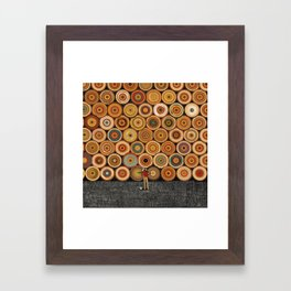 Timbers Framed Art Print