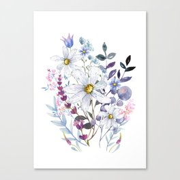 Wildflowers V Canvas Print