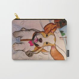 Sadie the Sled Dog? Carry-All Pouch