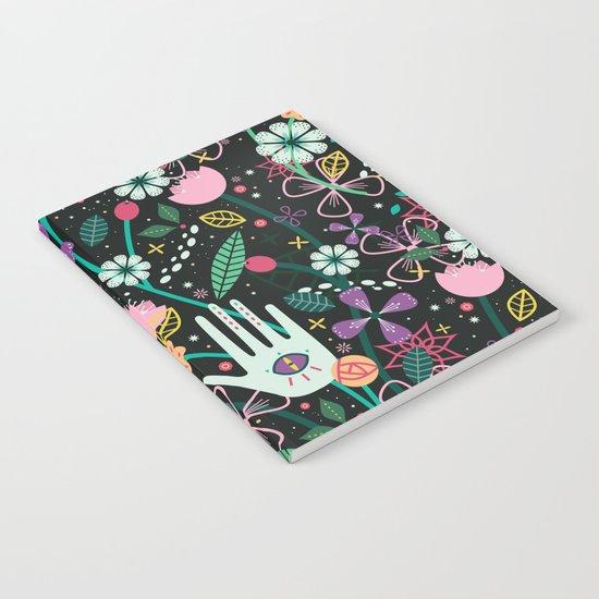 Botanical Hands Notebook