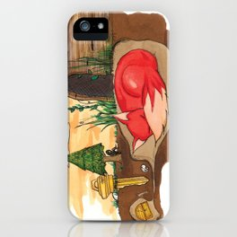 shelter. iPhone Case
