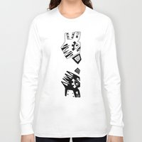tigers Long Sleeve T-shirts featuring Tigers by Berneri
