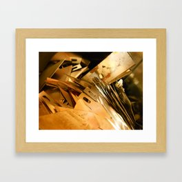 Shrapnel Framed Art Print