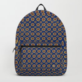 Swirly Sunflower Backpack
